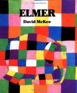 Elmer by David McKee - wild elephant video