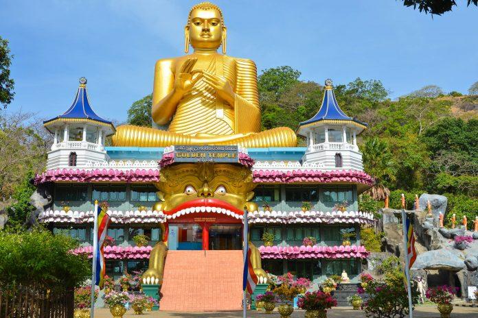 The Golden Temple of Dambulla