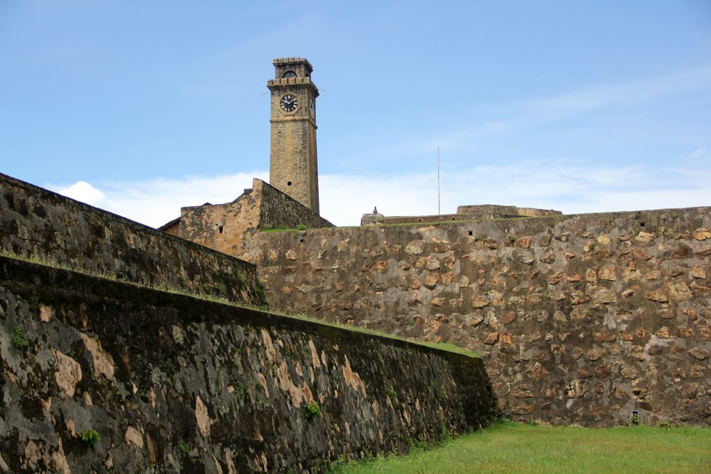 Old Galle town and Fort