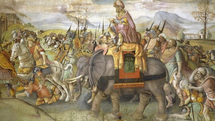 History of Elephants and Men
